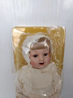 Hand Painted Porcelain Baby Doll 1984 Avon Shelburne Museum Gallery Originals