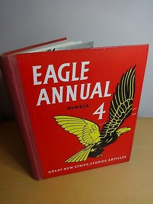 Eagle Annual Number 4 Published 1955 - Hulton Press Ltd Original  Vg++ Condition