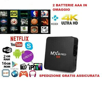 Box Android  Mxq Pro 2+16Gb Wifi 4K - Tv Box Android 7.1