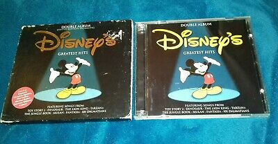 RARE DISNEYS GREATEST HITS CD Double Album LIMITED EDITION CD DISCS EXCELLENT