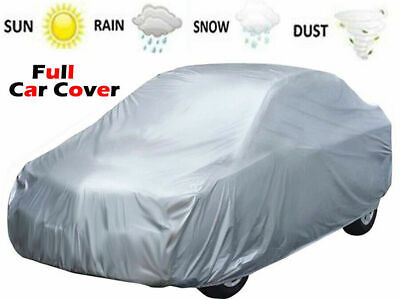 Breathable Full Car Cover Uv Protection Waterproof Outdoor Indoor Weatherprrof
