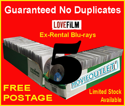 ​5 x LOVEFILM Ex-Rental Blu-Ray Movies, OVERSTOCK, JOBLOT, WHOLESALE, CLEARANCE