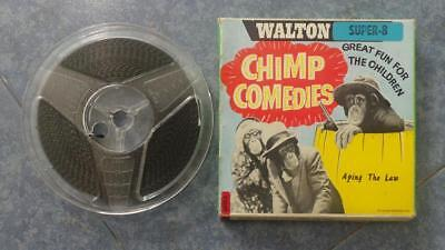 Aping  The Law-Chimp  Comedies, Película Super 8 Mm Retro-Vintage Film