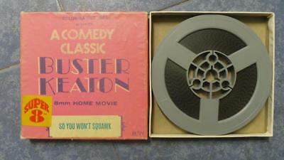 So You  Won´t  Squawk- Buster Keaton-Película Super 8 Mm , 1 X 60 Mts,Retro