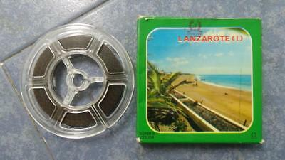 Lanzarote  Documental  Película Super 8Mm-Retro-Vintage Film