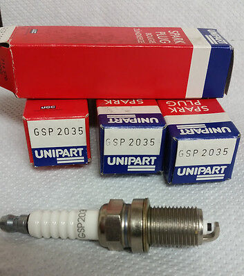4x renault clio MK1 1.8 rsi genuine ngk yellow box spark plugs