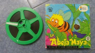 La Abeja Maya  Película: Willie  Y Las Hormigas Super 8Mm  Retro  Vintage Film