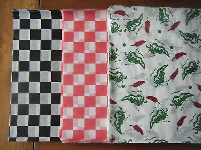 24 X Usa Dry Wax Printed Food Wrap Paper.greaseproof Burger/Chip Basket Liners