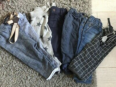 Next Boys Trousers 9-12 Months