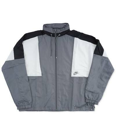 492866a95fbbb0 Nike Sportswear Woven Re-Issue Black Windbreaker Jacket Men s XXL 2XL