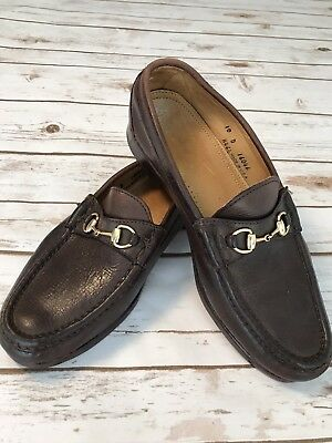 d23636c024f ALDEN Cape Cod Collection Men s Horsebit Loafer Brown Made In USA Sz ...