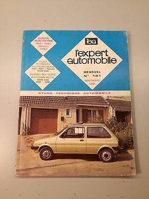 Revue Technique L'expert Automobile    RTA    Austin Mini Metro 1000 1300s N°181