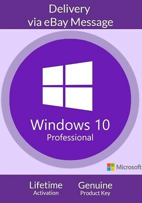 Microsoft Windows 10 Pro 32/64 Bit Activation License Key + Fast Delivery