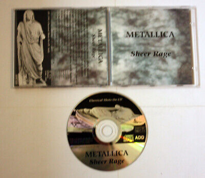 Metallica Sheer Rage RARE LIVE CD