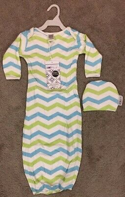 Mod Swad By Woombie Baby Boys 3-6 Months Chevron Print Swaddle With Hat Swaddler