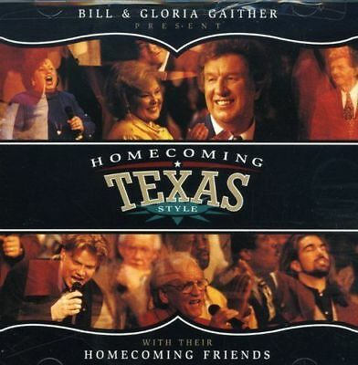 NEW! Bill & Gloria Gaither - Homecoming Texas Style [CD] W THEIR FRIENDS