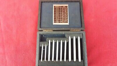 Vintage Matrix Taper Gauge Set in Very Good Used Condition. Nice Clean Pieces