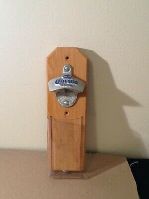 CORONA Extra Beer Bottle Opener with Catcher MAGNETIC or Wall Mount