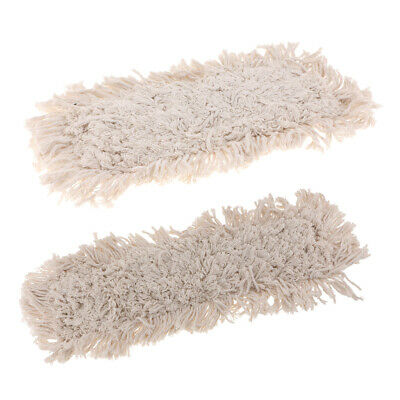 Dust Mops Refill Mop Head Replacement 60X16cm & 40x16cm Easy Operation