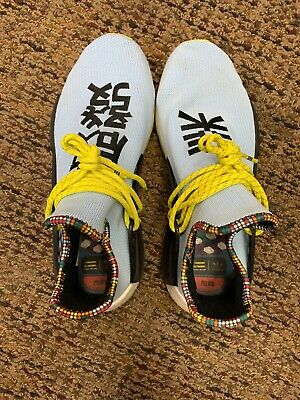 30d272b76 ADIDAS NMD HU Pharrell Inspiration Pack Clear Sky Blue Size US 11.5 ...