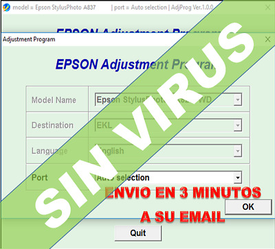 Reset ink pads counter 100/% 1Pc Reset epson Artisan 730 TX730 updated firmware