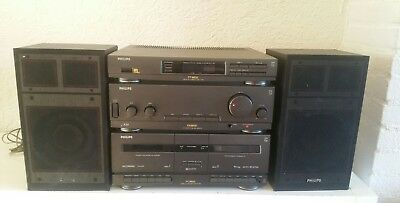 Philips vintage stereo set