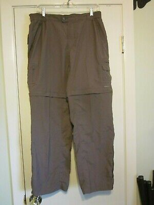 Columbia Titanium Convertible Zip Off Pants Womens Size Large Short
