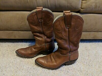 d80a059de1ac1 VINTAGE STEWART BOOT Co. Horse Hide Men's Cowboy Boot 26680 8 1/2EE
