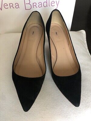 94b61a3158 J CREW DULCI Suede Kitten Heels Shoes $198 Almost Grey Sz 9 1/2 ...