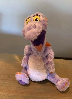 Walt Disney World Figment Epcot Purple Dragon Stuffed Animal Plush Size: 10""