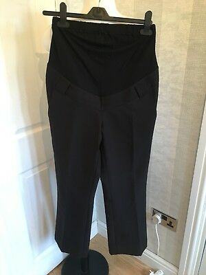 (266) Mothercare Maternity Trousers Size 8