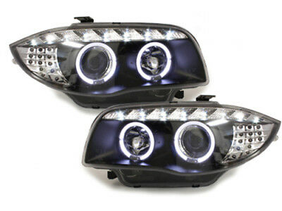 Fari Angel Eyes- Dayline BMW serie 1 E87 2003-2007