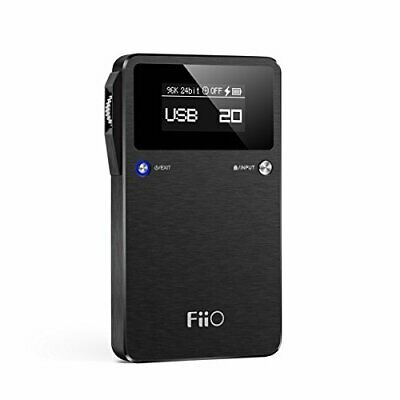 Fiio E17K Portable Headphone Amplifier Usb Dac From Japan W/ Tracking New