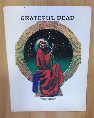 Grateful Dead RARE Blues For Allah British Backpatch NEW (NOS)