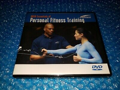 NASM Essentials of Personal Fitness Training 4 DVD Set