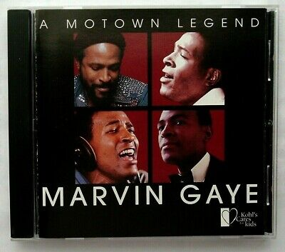 "MARVIN GAYE: A Motown Legend (CD/Greatest Hits/Kohl's) - ""What's Going On"" +more"
