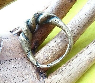 Viking Ancient Bronze Decorative Finger Ring