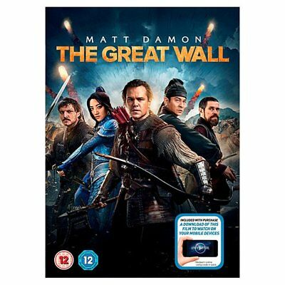 The Great Wall 2016 Dvd Region 2