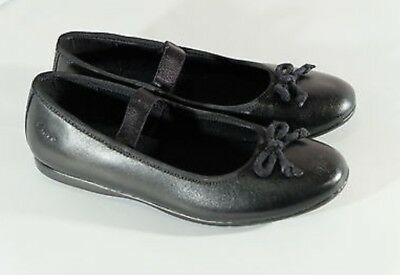 Brand New Clarks Girls 'Dance Along' Leather School Shoes - Size 13.5F