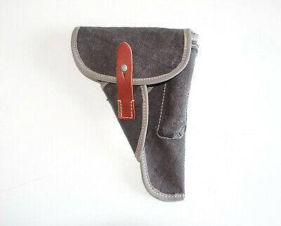 GERMAN ARMY LUFTWAFFE WWII WW2 repro WALTHER P38 BLUE canvas AFRIKAKORPS HOLSTER