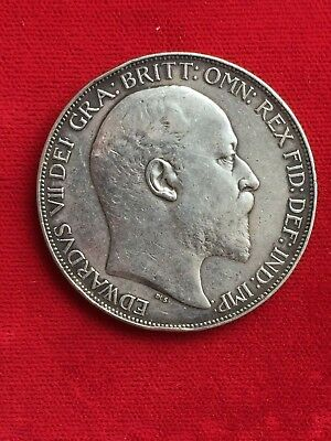 Great Britain 1902 Silver Crown Coin