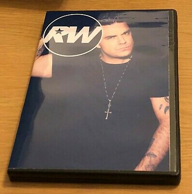 ROBBIE WILLIAMS Rare Solo Music TV Footage DVD (2002-2003) Take That