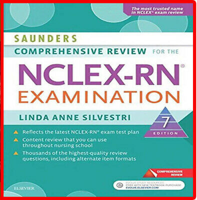 Saunders Comprehensive Review for the NCLEX-RN Examination 7th Edition PDF