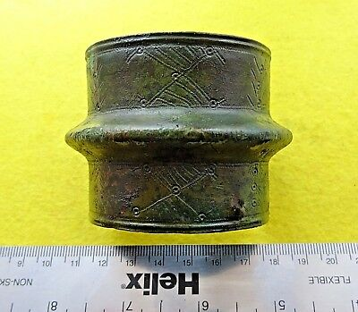 Viking Ancient Bronze Decorative Bracelet Cuff