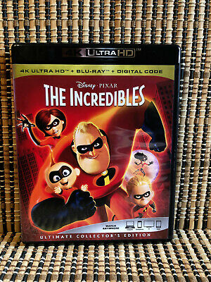 The Incredibles 4K (1-Disc Blu-ray, 2018).Disney/Pixar/Brad Bird/Sam Jackson