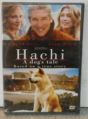 Hachi: A Dogs Tale (DVD, 2010) RARE DRAMA / FAMILY  TRUE TEAR JERKER BRAND NEW