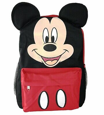 45b63d11fed Disney Mickey Mouse with Ears Backpack School Book Bag Backpack 12