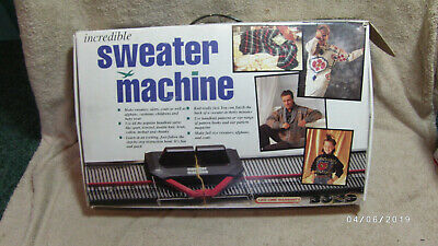 Bond Incredible Sweater Machine Knitting Easy System