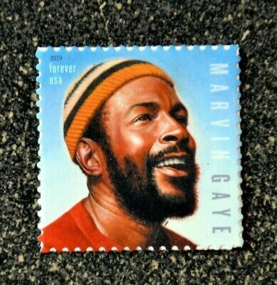 2019USA #5371 Forever - Marvin Gaye  Single Stamp-  Mint NH   music icon