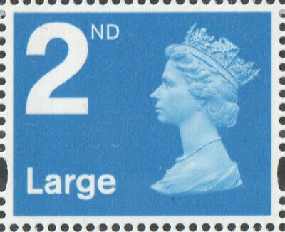 100 x 2nd Class LARGE Royal Mail Stamps; Unfranked, No Gum, Off Paper GENUINE UK